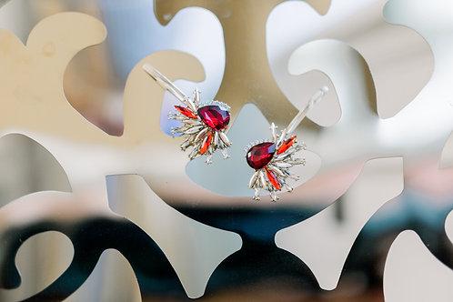 Scarlet Hair Pins