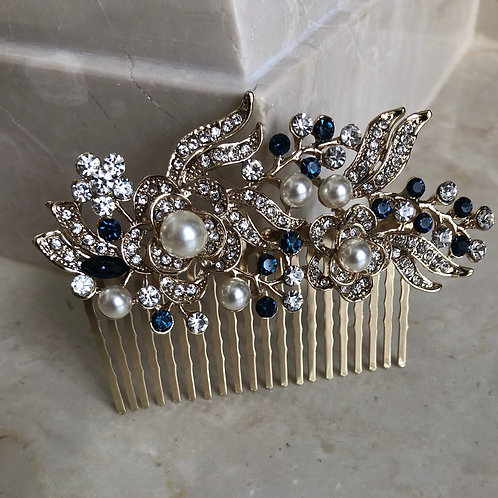 Glam Gold Hair Comb
