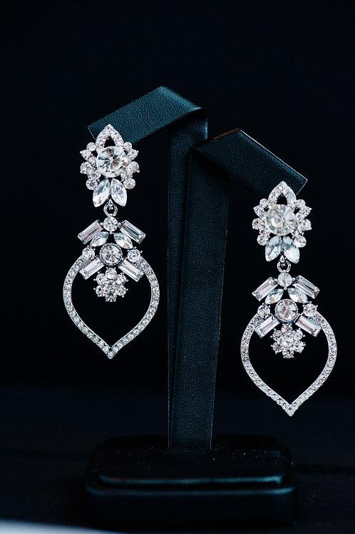 Clear SnowBell Earrings