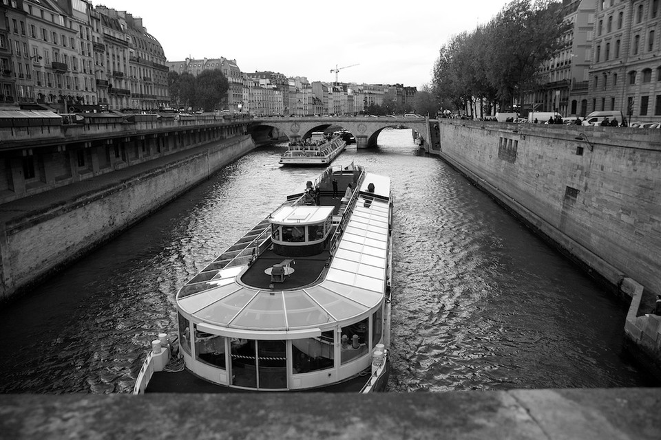 Seine, River, Paris