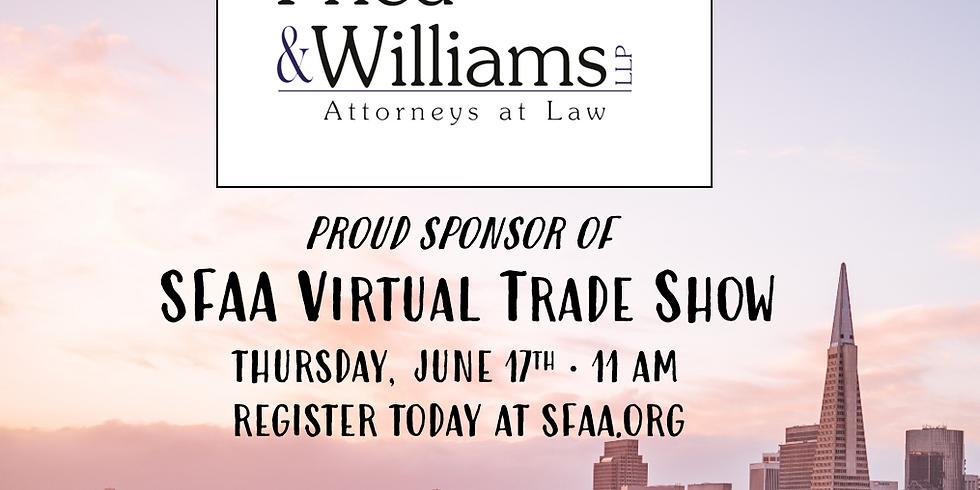 SFAA 2021 Virtual Trade Show