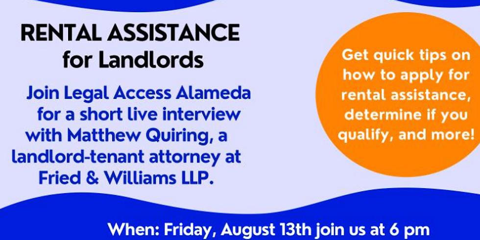 Rental Assistance for Landlords