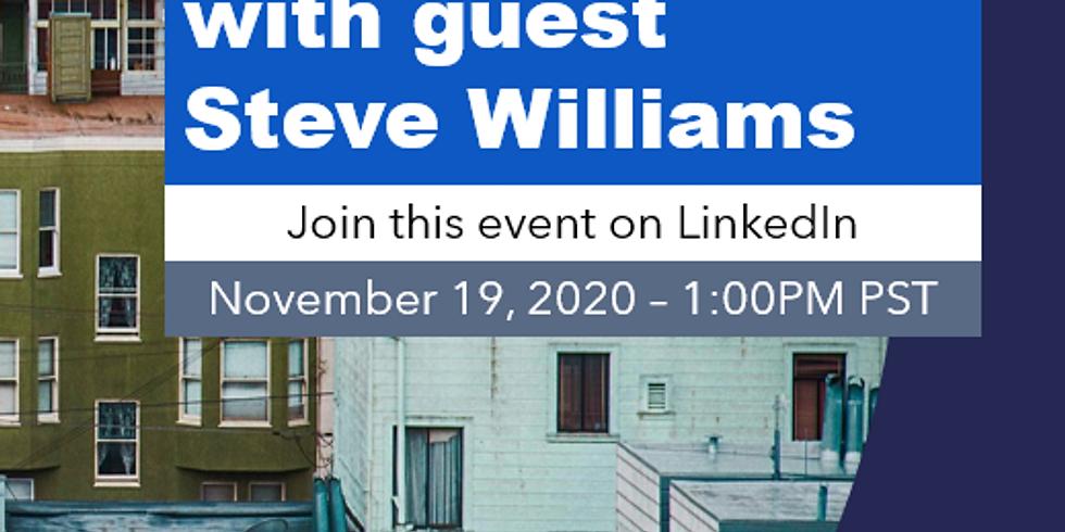 LinkedIn Live: Paul Hitchcock's Giant Advice with Steve Williams