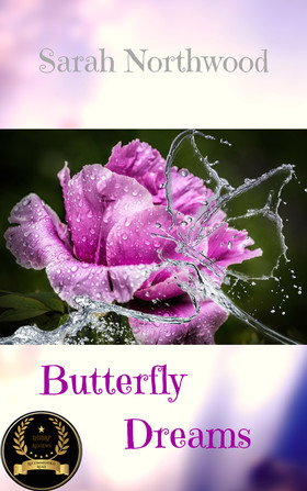 Butterfly Dreams front cover with badge.