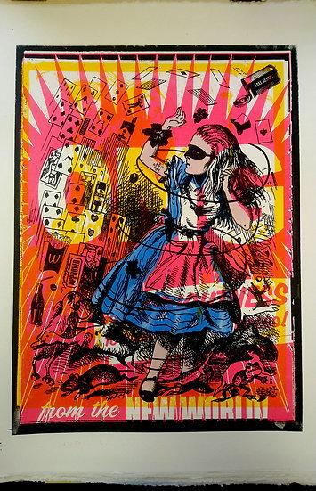 Johnnyx Printer Artist New World Outstanding colour
