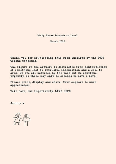 Three Seconds to save a Love - Thank You letter