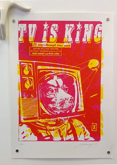 TV is King - Pink