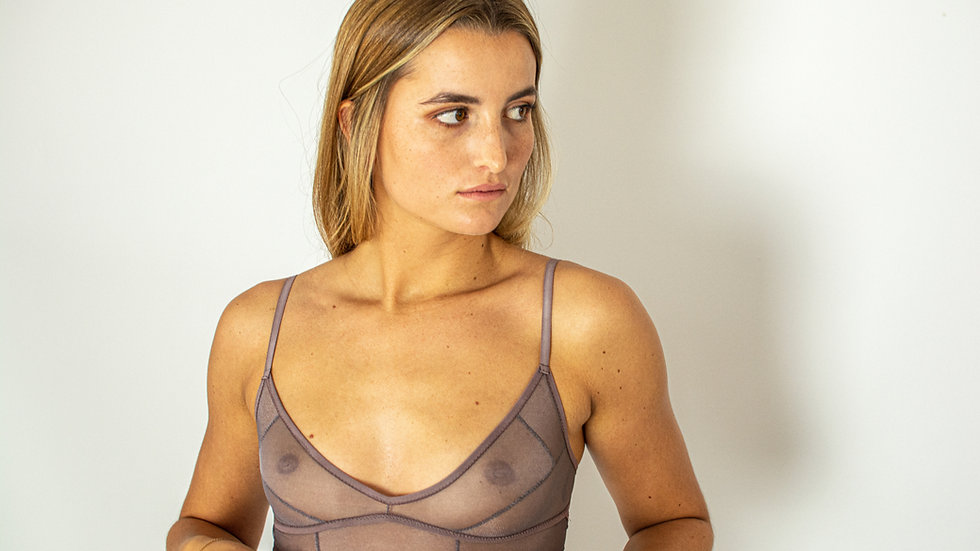 Ubud Bralette Purple