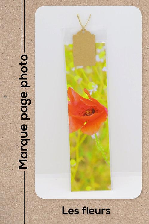 Fleurs modèle 29 Coquelicot