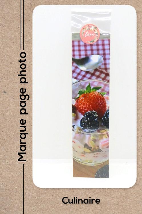 Culinaire modèle 4 Dessert