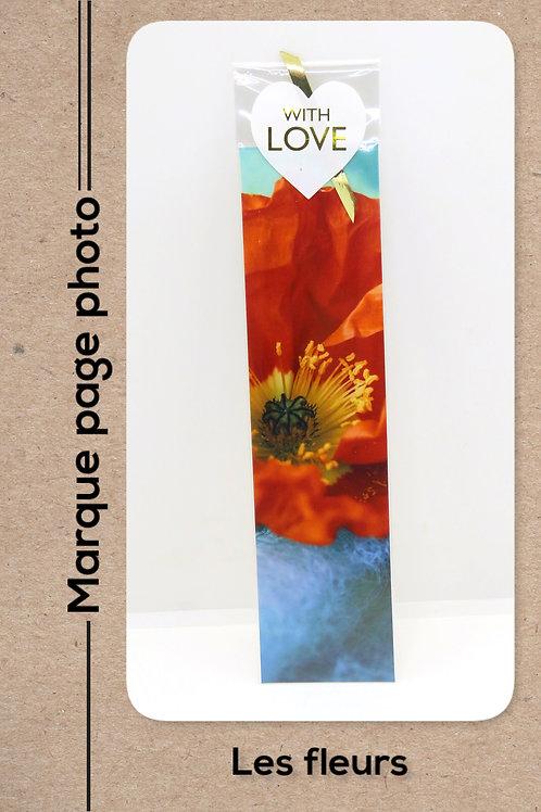 Fleurs modèle 12 coquelicot