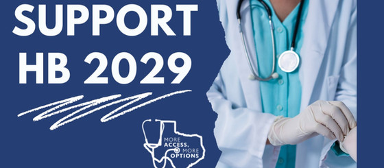 Texans for Healthcare Access Applauds Chair Klick on the Filing of HB 2029
