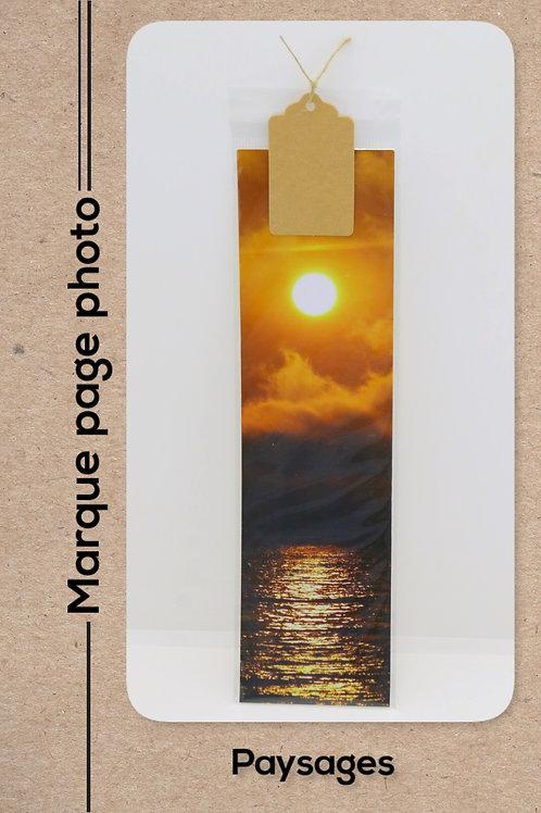 Paysages modèle 12 Coucher de soleil