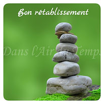 carte de bon rétablissement zen