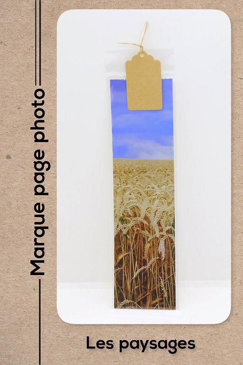 Paysages modèle 10 Les blés