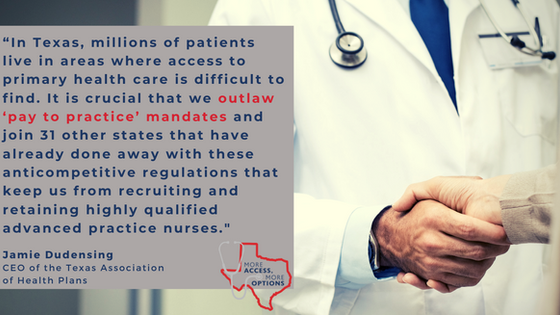 Texans for Healthcare Access Applauds Chair Hancock on the Filing of SB 915