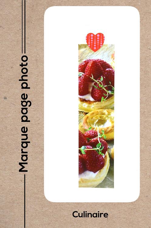 Culinaire modèle 11 Tarte aux fraises