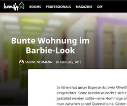 Homify Germany, online magazine