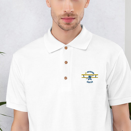 Student Pilot Embroidered Polo Shirt (Multicolor Logo)