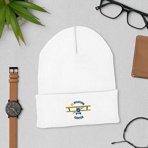 FL Aviation Center Cuffed Beanie | Pilot Aviation Christmas/Holiday Gift