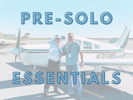 Your Pre-Solo Essentials