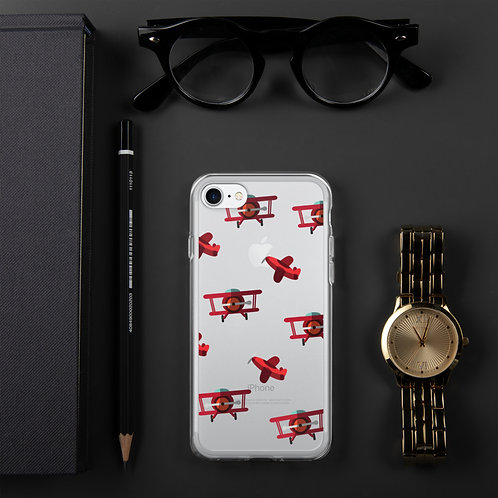 Airplane Pattern iPhone Case  | Pilot Aviation Christmas/Holiday Gift