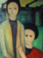 Holocaust artist, Holocaust survivor