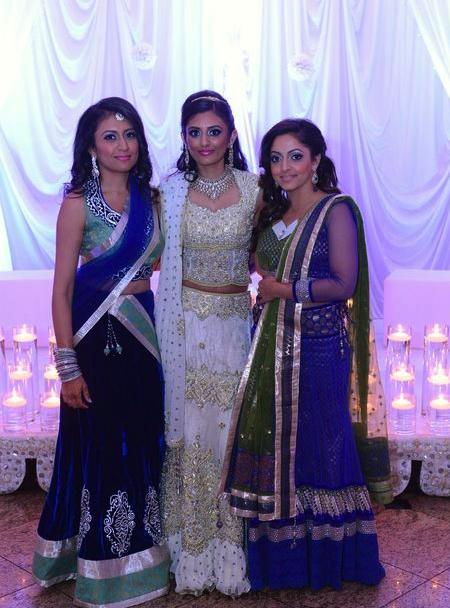Brides Maid and Bride