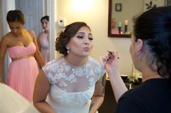 Behind the Scenes Bride Rosa
