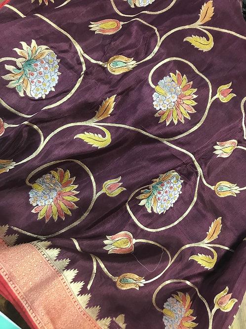 Munga silk saree