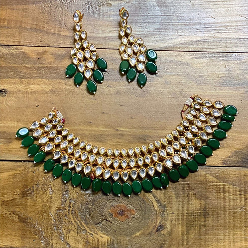 Kundan Set with Earrings