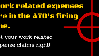 Getting your Work related Expense claims right