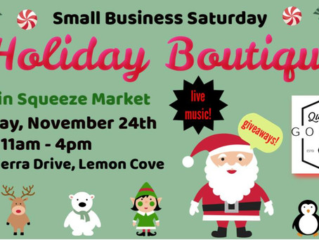 Main Squeeze Market Does Small Business Saturday