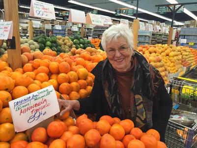 Shirley at Berkeley Bowl