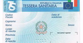 Codice fiscale obbligatorio per tesseramenti e rinnovi