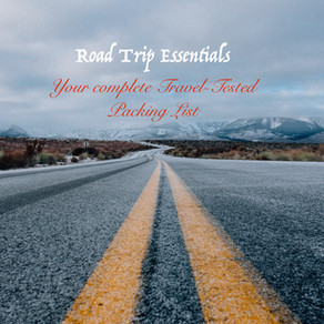 Road Trip Packing : 32 Packing Essentials for a Successful Trip
