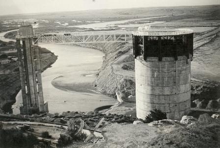 Kingsley Dam at the Beginning