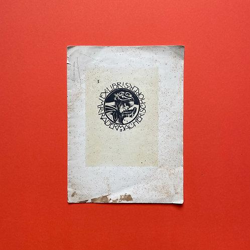 Zeldzame privé-uitgave van Utrechtse bibliofiel
