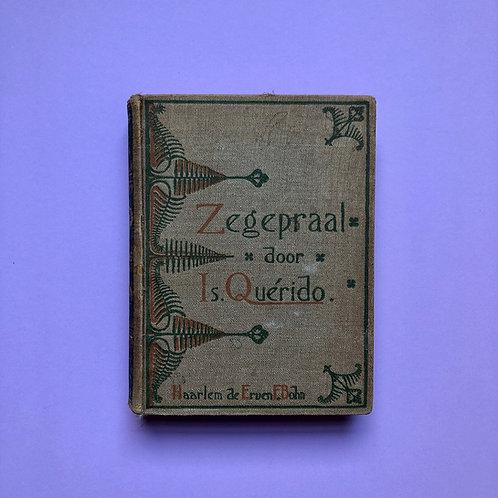 Met ex libris en stempel van kunstenaar Jac. van den Bosch