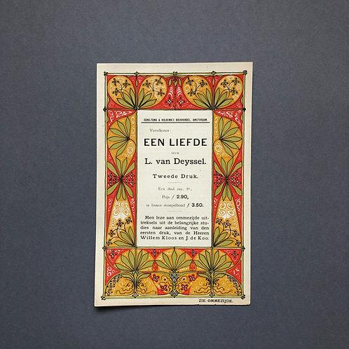 Theo Nieuwenhuis voor Lodewijk van Deyssel