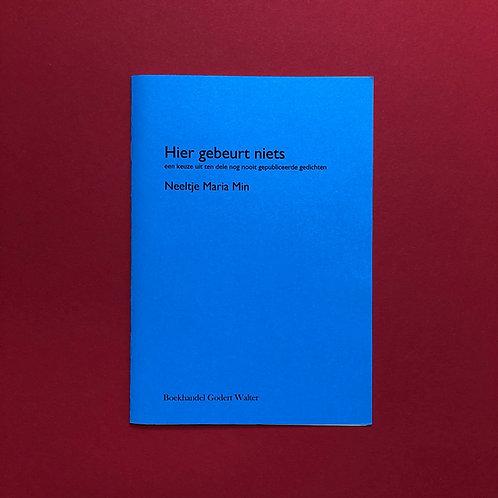 Nieuwe poëzie van Neeltje Maria Min