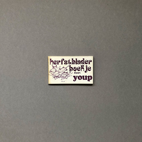 Herfstbladerboekje van Youp van 't Hek