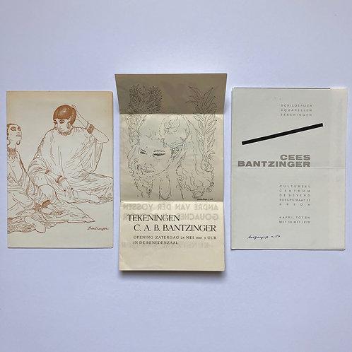 Godfried Bomans opent de tentoonstelling