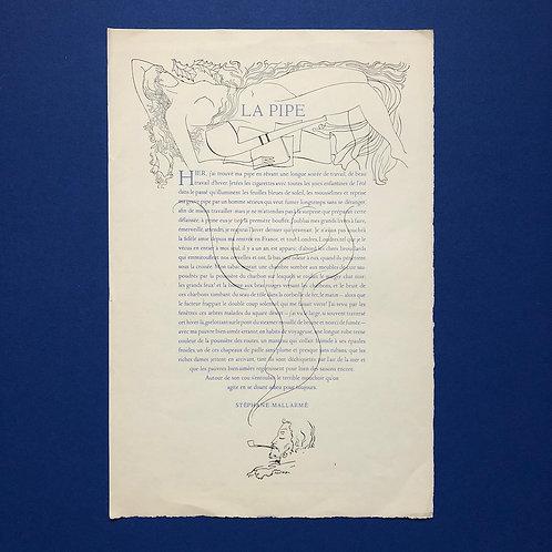 Bantzinger illustreert Mallarmé