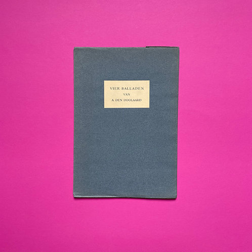 Nummer 26 van 50 door Stols genummerde en gesigneerde exemplaren