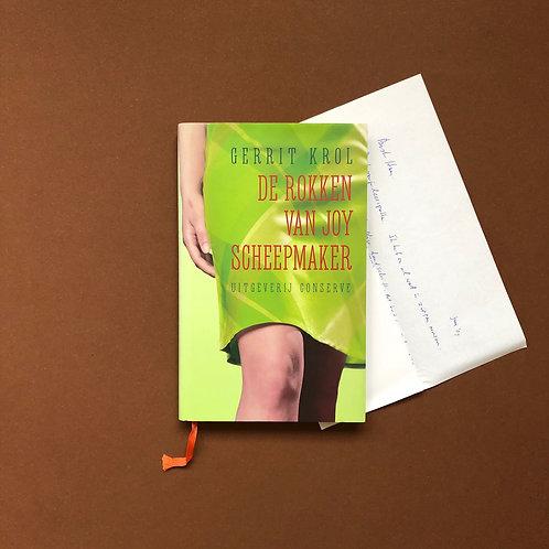Met opdracht en handgeschreven brief van Gerrit Krol