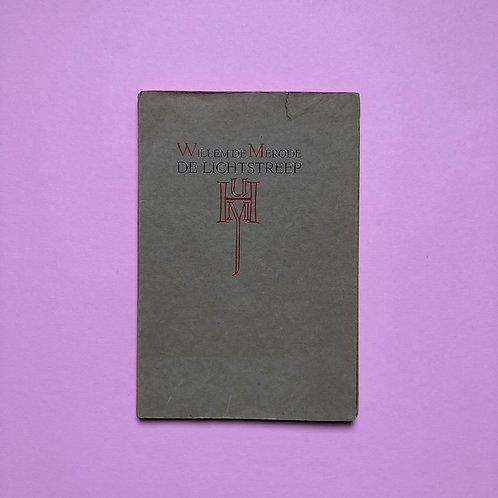 Auteursexemplaar met opdracht van De Mérode