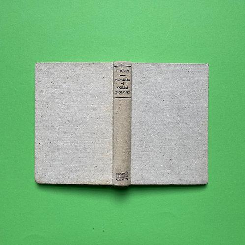 Biologieboek van Hans Lodeizen