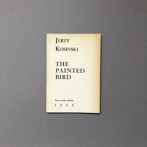Met opdracht en visitekaartje van Jerzy Kosinski