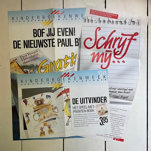 Elf affiches voor de Kinderboekenweek